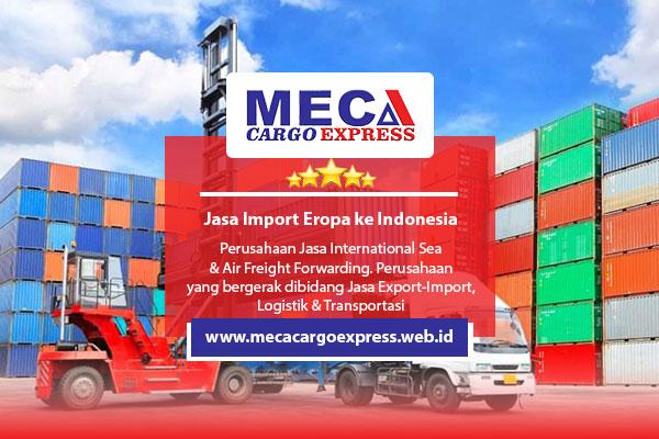 Jasa Import Eropa ke Indonesia