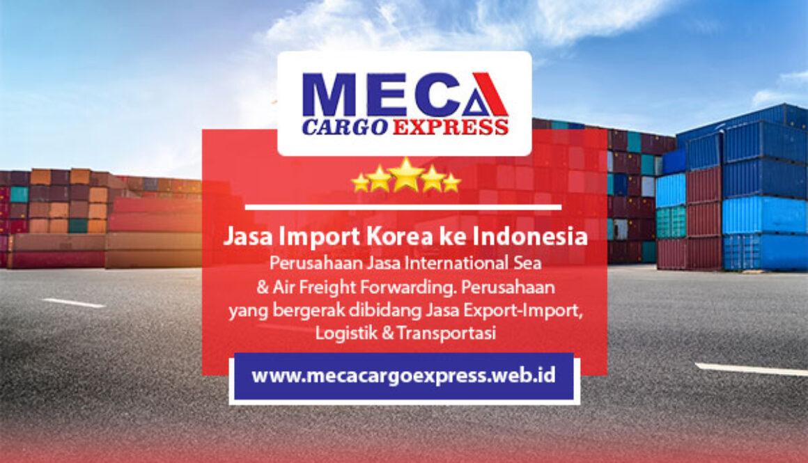 Jasa Import Korea ke Indonesia